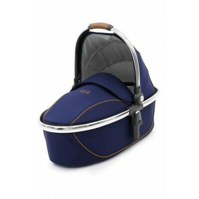 Love N Care egg Carry Cot Regal Navy & Mirror Frame