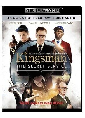 Kingsman: The Secret Service (4K Ultra HD and Blu-ray) NO Digital Code