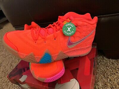 050640f8a7ac NEW 2018 NIKE Kyrie 4 Lucky Charms BV0428-600 Red Mens Shoes DS 11.5 ...