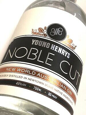 Young Henrys Noble Cut Gin 40%, Sydney 1 X 750ml