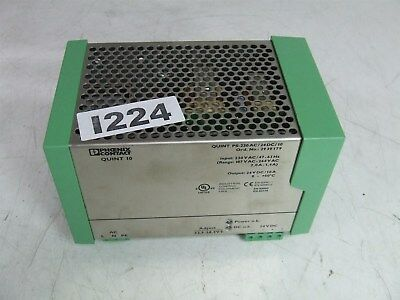 Phoenix Contact QUINT 10 Quint PS-230AC/24DC/10 Power Supply *Tested*