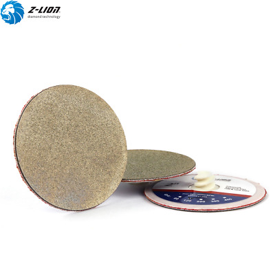 2'' Roll Lock Abrasive Disc GRIT 60 Special Electroplated Wheel Glass Ceramic