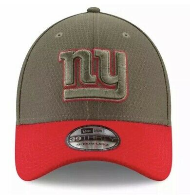 c33678e638c Men s New Era 39THIRTY NFL NY Giants Salute to Service Hat Cap NWT  36 Size