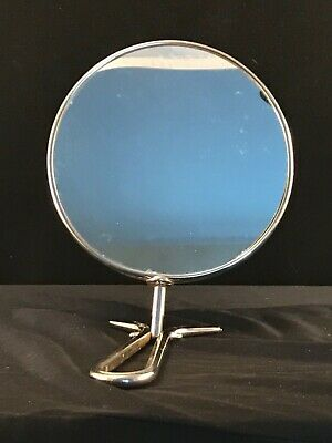 Hand Held Make Up Mirror Round Table Top Free Standing 3x Magnifying Mirror