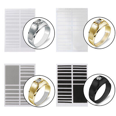 6 Sizes Invisible Ring Size Adjuster for Rings Loose Jewelry Guard Spacer Fitter