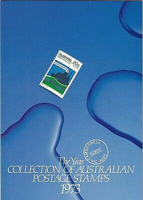 "1973 Sherwood ""the Complete Collection Of 1973 Australian Stamps"" Full Set Mnh"