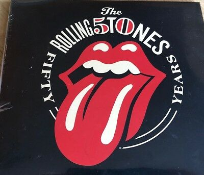 The Rolling Stones- 50th Anniversary Limited Edition CD set- Brand New Sealed