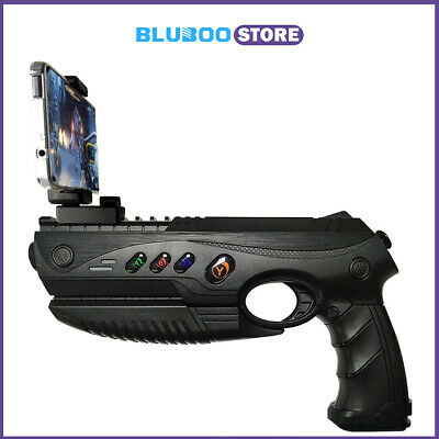 94b2cb757725 AR GUN Augmented Console Game Controller BT with Cellphone Holder Toy Gift