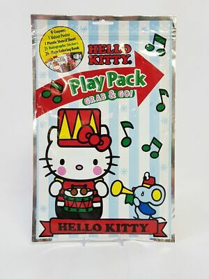 467cefa61 HELLO KITTY SUMMER Play Pack Grab & Go Coloring Book Stickers Crayon ...
