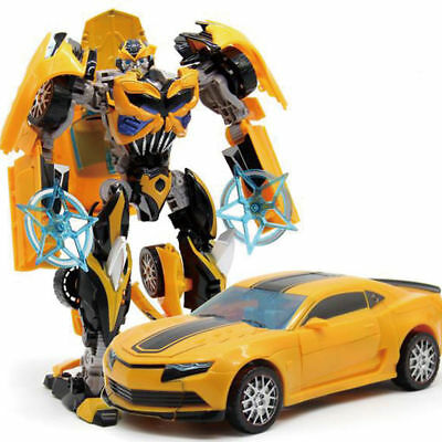18cm Tall Transformers Toys Bumblebee Action Figure Human Vehicle Alliance Gifts