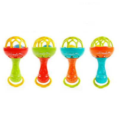 Baby Baby Rattles Hand Bell Grasp Toy Kid Musical Educational Funny Toys
