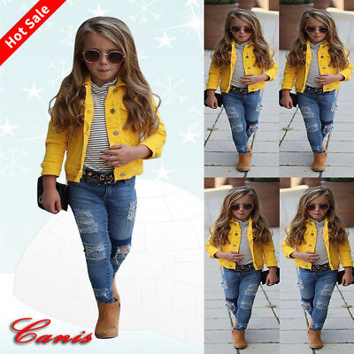 Autumn Baby Kid Girl Coat Long Sleeve Hoodie Thick Warm Jacket Toddler Outerwear