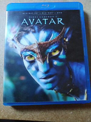 Avatar de James Cameron DVD = Blu-ray 3d - Bon état