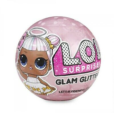 L Glitter Glam Surprise Series 4 O Lol Doll Big Ball Sister Authentic 7 1 Hand