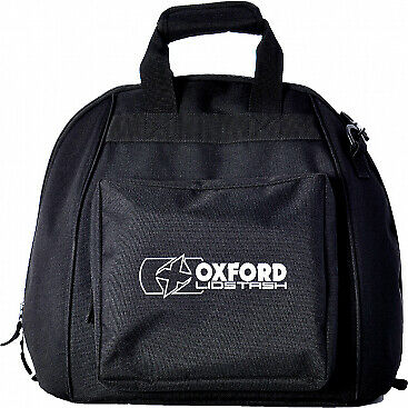 OXFORD Lidstash - Motorcycle Helmet Carry Bag Black OL260 Lid Stash
