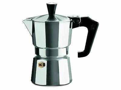 Pezzetti Traditional Stove-Top Coffee Maker Aluminium 3 Cup