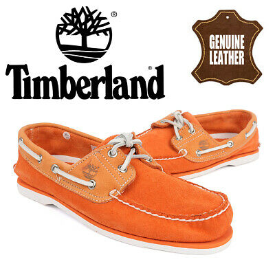 Timberland Classic 2-Eye Boat//Deck Shoe Sued Navy 6169A RRP £110
