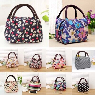 Childrens Kids Lunch Bags Insulated Cool Bag Picnic Bags School Lunchbox New UK