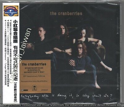Cranberries Everybody else is doing it so why can't we 2018 TAIWAN OBI CD SEALED