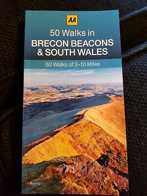 **NEW PB** AA 50 Walks in Brecon Beacons & South Wales (2017) Buy 2 books & SAVE