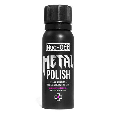 Muc-Off Metal Polish 100ml M632 Muc Off Metal Polish Motorcycle Metal Polish