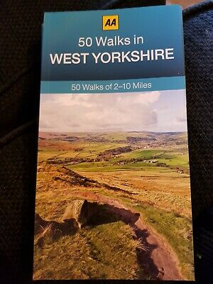 **NEW PB** AA 50 Walks in West Yorkshire (2017) Buy 2 books & SAVE