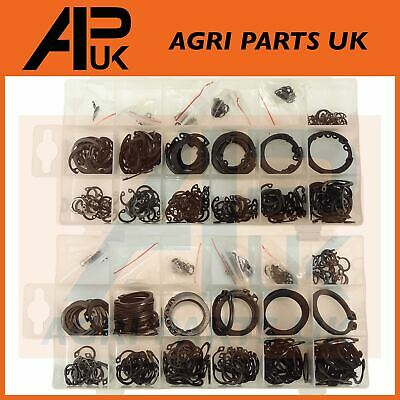 600 Assorted Metric Inner & Outer Circlips Snap on Circle C Clips Retaining Ring