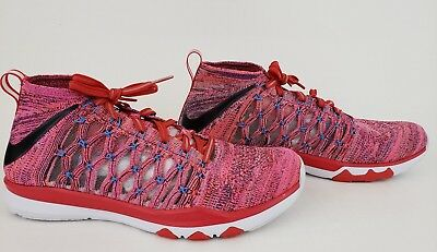 4c32239ebb81 NIKE Men s Train Ultrafast Flyknit Running Training Shoes 843694-500 Size 10
