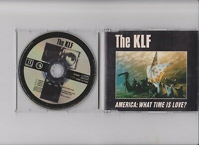 """The Klf - What Time Is Love  Live At Trancentral  3 Tr German Rare 3""""inch + Tray"""
