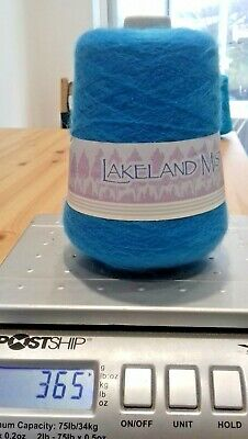 360 GRAM CONE OF LAKELAND MIST YARN Machine or  hand knitting Mohair Mix