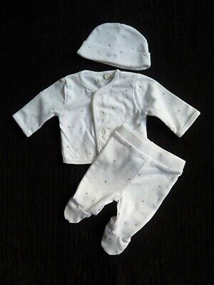Baby clothes BOY premature/tiny<7lbs/3.1kg outfit J. Conran trousers,jacket,hat