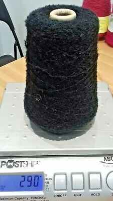 290 GRAM CONE OF FINE BOUCLE YARN Machine or  hand knitting