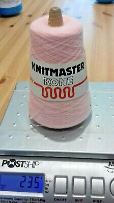 235 GRAM CONE OF 2 PLY ACRYLIC YARN Machine or  hand knitting