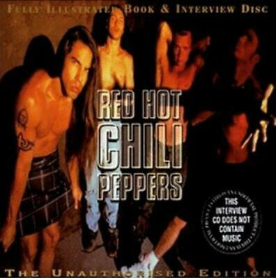 Red Hot Chili Peppers - Fully Illustrated Book & Interview Disc CD #95608