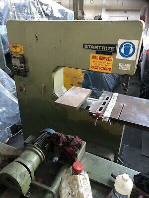 Startrite Vertical Bandsaw 30wf Was Cutting Steel