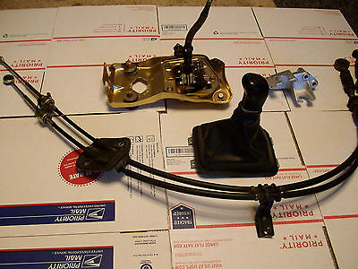 94 95 96 97 Honda Accord H22 H23 5-SPD SHIFTER SHIFT CABLES SWAP COMPLETE SET