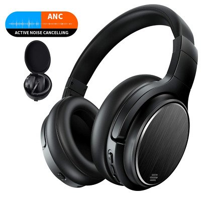 DAMSON HEADSPACE CUFFIE Active Noise Cancelling over Ear Bluetooth ... 18f46d4d8c00