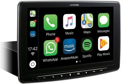 Alpine iLX-F903D Halo mit 9-Zoll Display, DAB+, USB, Apple CarPlay, AndroidAuto