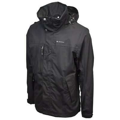 Your Mountain By Quechua Lightweight Black Shell Jacket