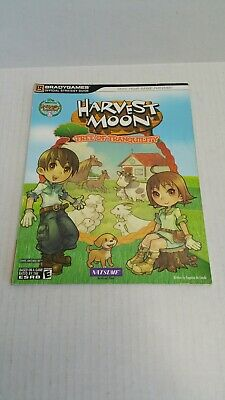 Brady Games Harvest Moon Tree Of Tranquility Wii Strategy Guide Book 2008