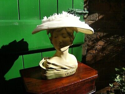 """Vintage 1930's All Original Stunning Hat Made In England By """" A Marten Hat"""""""