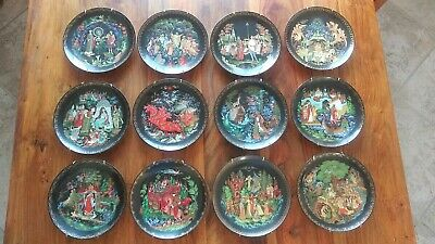 Bradford Exchange Russian Legends Limited Edition Plates Decorative Collectibles Other Decorative Collectibles