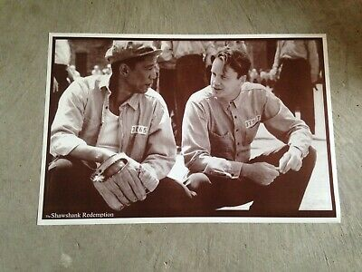 SHAWSHANK REDEMPTION - MOVIE POSTER 24x36 FREEMAN ROBBINS