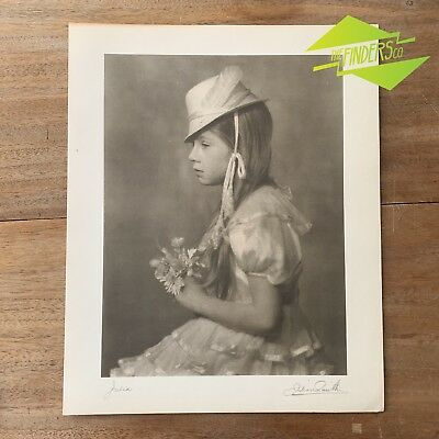 "Vintage ""Julia"" 1948 Photographic Print By Dr. Julian Smith Photographer"