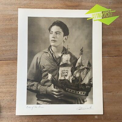 "Vintage ""Echo Of The Drum"" 1948 Photographic Print By Dr. Julian Smith Photo"