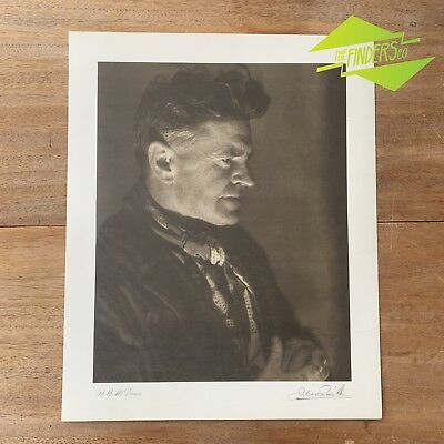 "VINTAGE ""W.B.McINNES"" 1948 PHOTOGRAPHIC PRINT BY DR. JULIAN SMITH PHOTOGRAPHER"