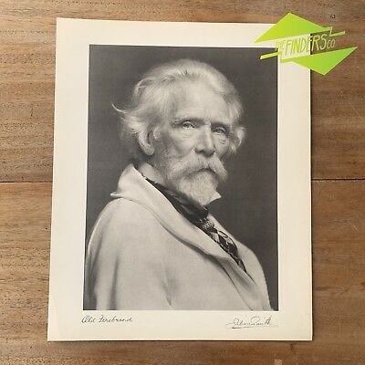 "Vintage ""Old Firebrand"" 1948 Photographic Print By Dr. Julian Smith Photographer"