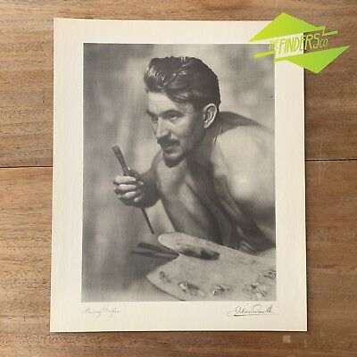 "Vintage ""Murray Griffin"" 1948 Photographic Print By Dr. Julian Smith"