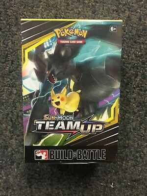Pokemon TCG Team Up Build and Battle Box Kit Sun & Moon Sealed NEW