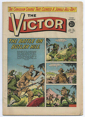 The Victor 136 (September 28, 1963) high grade copy